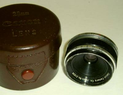 Canon 28mm f/3.5 black