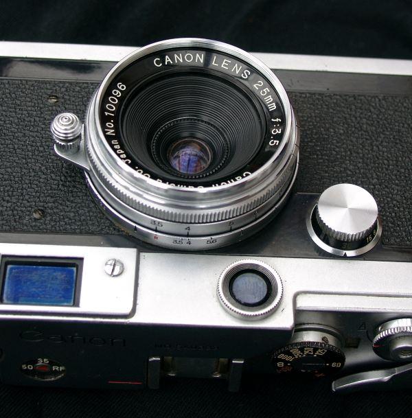 Canon 25mm f/3.5