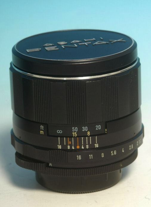 Super Takumar 1.9 85mm